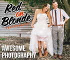 Red on Blonde Photography - Awesome wedding photography