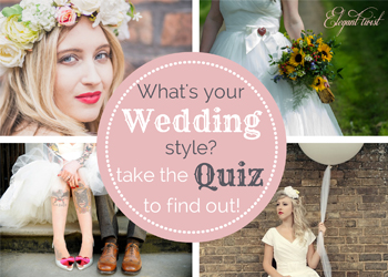 What is your wedding style? Take the quiz!